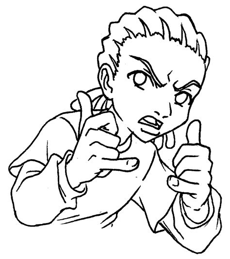 Boondocks Coloring Pictures Boondocks Coloring Pages