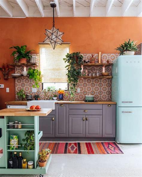 am駭agement d une cuisine 21 cuisines avec une d 233 coration de style boh 233 mien