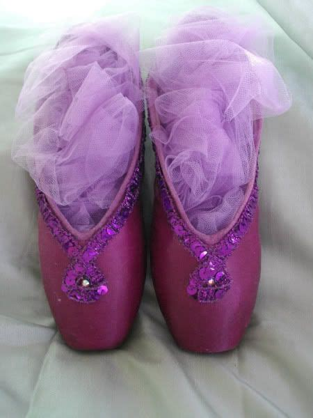 purple ballet slippers 78 best images about ballet pointe shoes on