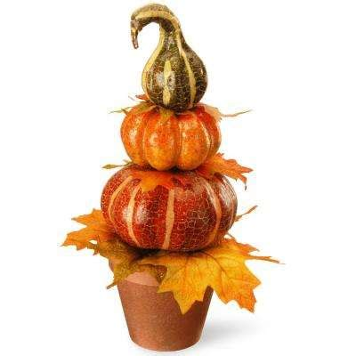 fall decorations holiday decorations the home depot pumpkin 20 30 fall decorations holiday