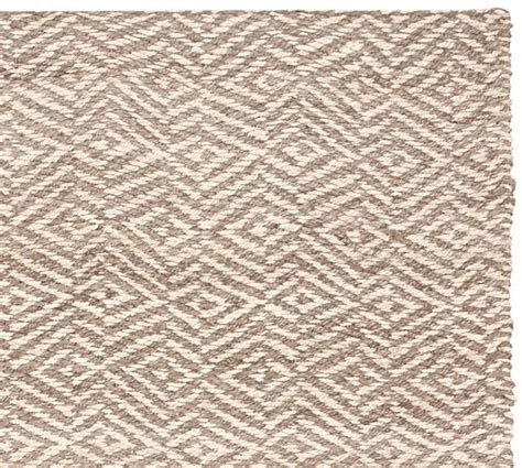 jute rug clark two tone soft jute rug pottery barn