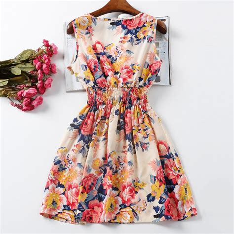 vestido florido aliexpress lindo entrega gr 193 tis