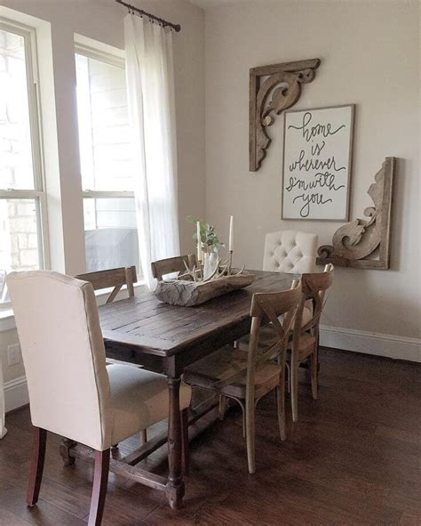 decor for dining room table 37 best farmhouse dining room design and decor ideas for 2018