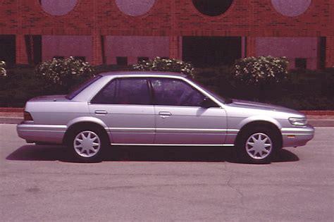 nissan stanza 1990 92 nissan stanza consumer guide auto