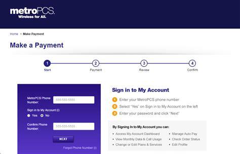 metropcs facebookcom welcome to online bill pay com
