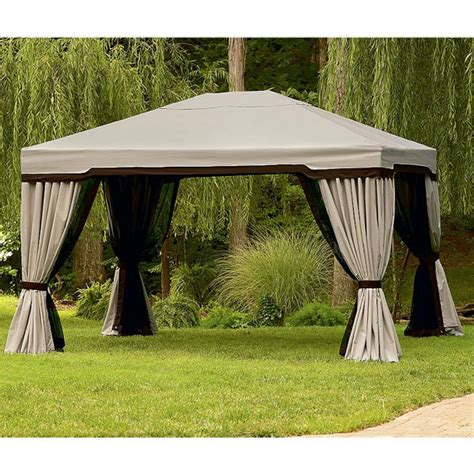 garden oasis sojag replacement canopy and netting garden winds