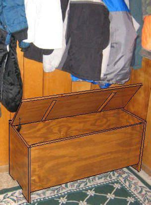entryway storage bench plans   build