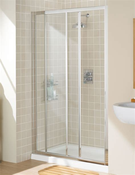 Classic Shower Door by Lakes Classic Framed Slider Shower Door 1000mm Silver