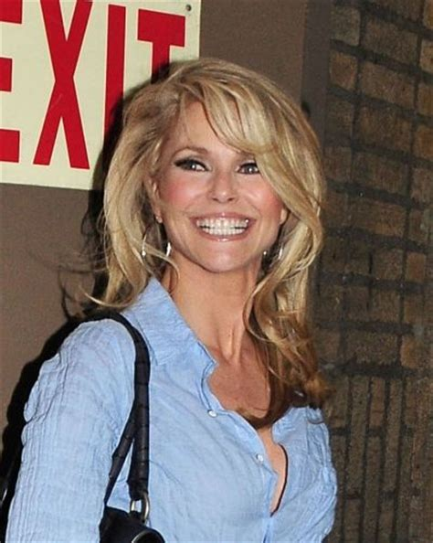 blonde hairstyles 40 year olds 88 best christie brinkley images on pinterest christie