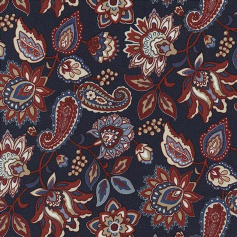 fabric home decor fabric jacobean floral fabric 1 by timeless treasures americana jacobean floral border stripe