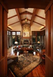 Arts And Crafts Home Interiors Mountain Arts And Crafts Living Room Traditional