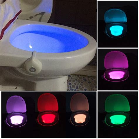 Lighted Toilet Bowl by Other Lighting And Ls Motion Activated Toilet