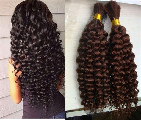 curly weft human hair extension malaysian hair curly human braiding hair bulk