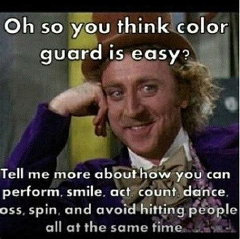 Color Guard Memes - winter guard funny pinterest