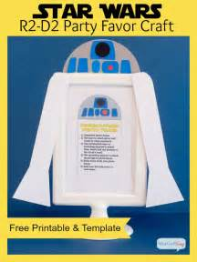 r2d2 printable template r2 d2 wars favors craft atta says