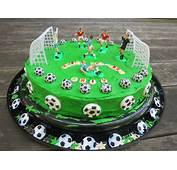 Healthy Recipe For Soccer Birthday Party Cake  The