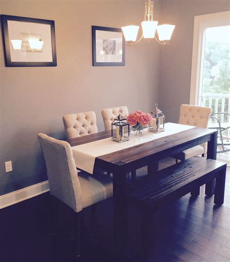 Dining Room Avondale Macy S Table Bench With Fabric