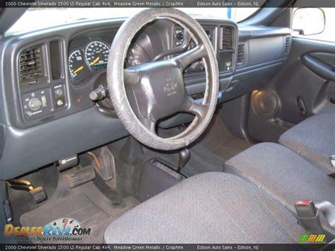 2000 Silverado Interior by Graphite Interior 2000 Chevrolet Silverado 1500 Ls
