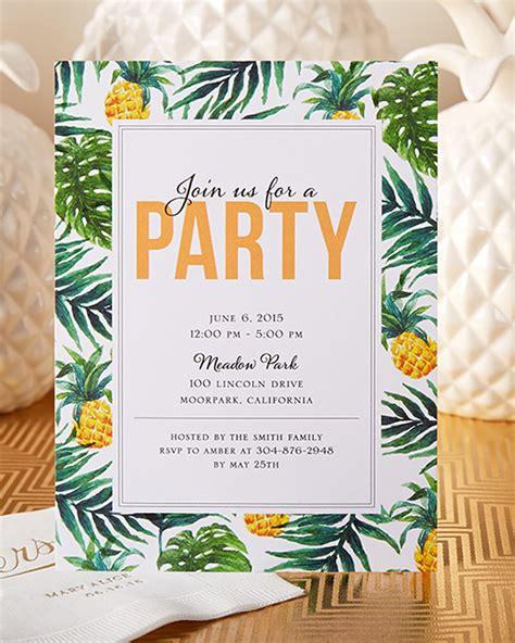 invitation design pinterest have your friends join you for a tropical party this