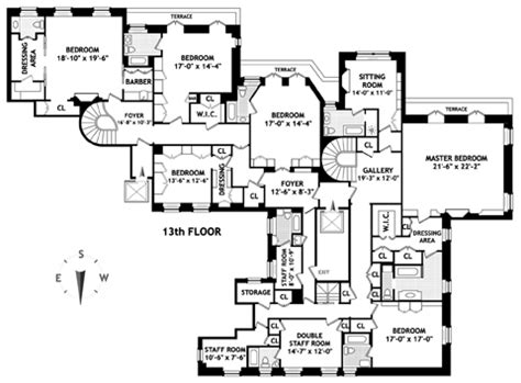 740 park avenue floor plans floor plan 740 park avenue variety