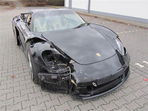 Porsche Unfallwagen Kaufen by Porsche Carrera Gt Unfallwagen Totalschaden Ebay