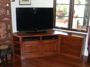 custom tv stands custom maple corner tv stand