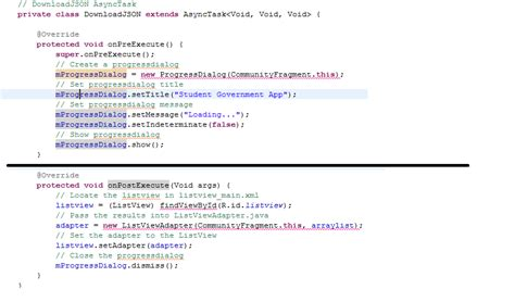get layoutinflater from fragment java fragment implementing asynctask and listview in