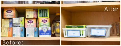 tea organization the simple inexpensive way to organize tea