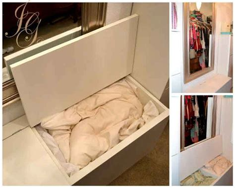 BESTA Blanket and Pillow Chest   IKEA Hackers   IKEA Hackers