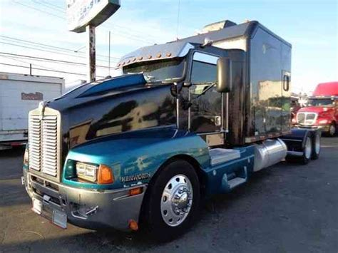 kenworth t600 for sale by owner kenworth t600 1999 sleeper semi trucks