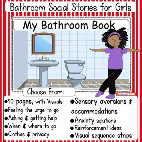 going to the bathroom social story bathroom social stories boys or girls your therapy source