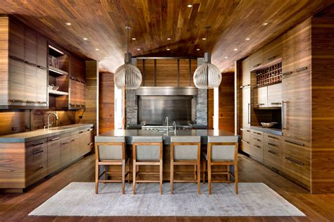 custom horizontal grain kitchen contemporary kitchen