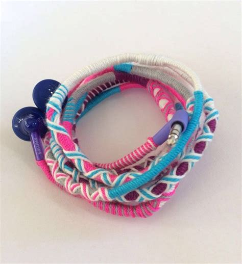 Handmade Headphones - 17 best ideas about earphones wrap on wrap ear
