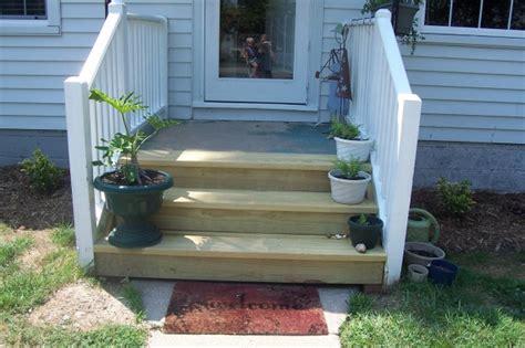 Outside Patio Doors Steps From The Back Door Outside Pinterest Doors