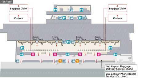 narita airport floor plan narita international airport terminal 2 arrivals and