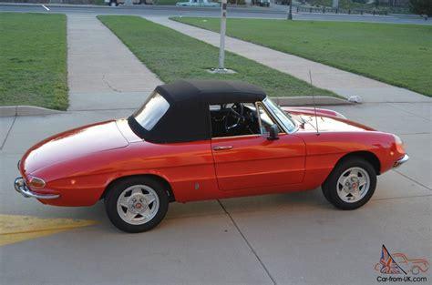 1969 Alfa Romeo Spider by 1969 Alfa Romeo Spider Convertible