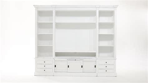 meuble biblioth 232 que tv ivoire passy maisons du monde