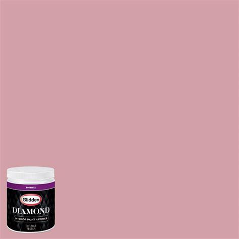 glidden 8 oz hdgr19d quartz pink eggshell interior paint with primer tester hdgr19dd