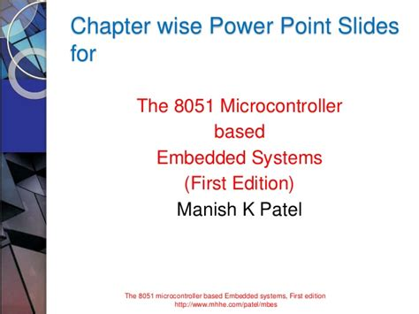 systems controls embedded systems energy and machines the electrical engineering handbook books the 8051 microcontroler based embedded systems