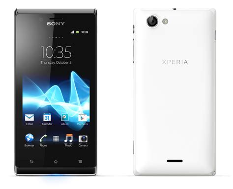 Sony Xperia Sony Xperia J And Xperia V Join 2012 Smartphone Line Up Eurodroid