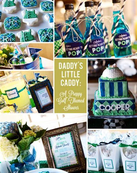 Golf Themed Baby Shower by Kara S Ideas Preppy Golf Themed Boy Baby Shower