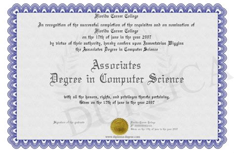Computer Science Mba Degree by Doctor Doctor Business Administration