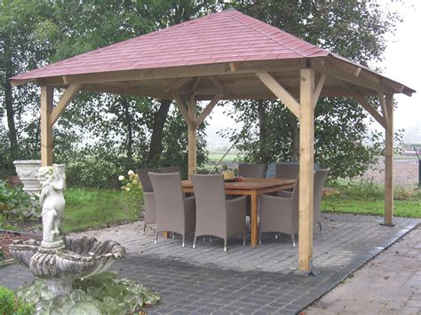 wood gazebo kit classico wooden gazebo 4 3m x 4 3m garden canopy kit
