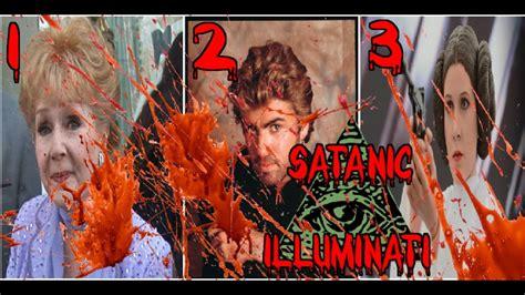 blood sacrifice illuminati three s carrie fisher george michael debbie