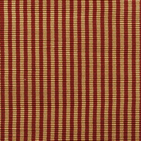 red stripe upholstery fabric stripe gold red upholstery fabric transitional