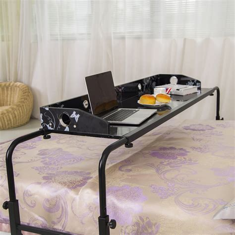bed computer desk overbed work desk table dudeiwantthat com