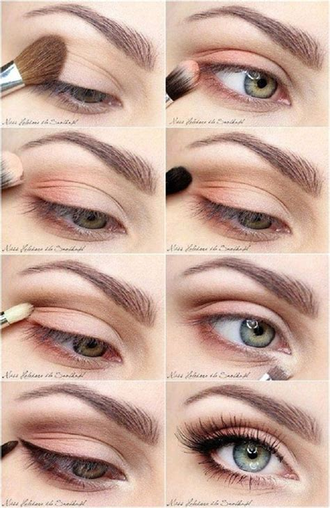eye makeup tutorial no eyeliner 10 step by step spring makeup tutorials for beginners 2016