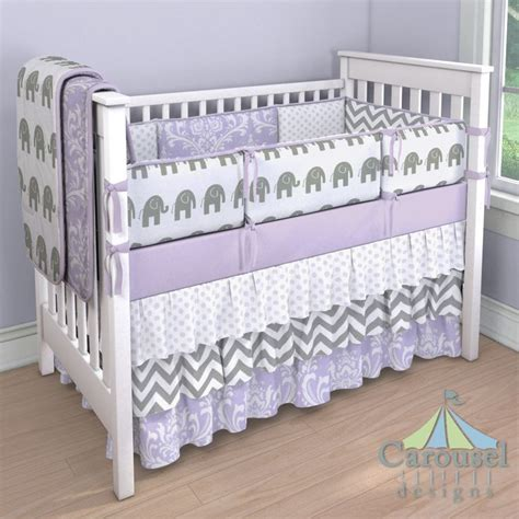 purple elephant crib bedding 1000 ideas about elephant nursery girl on pinterest