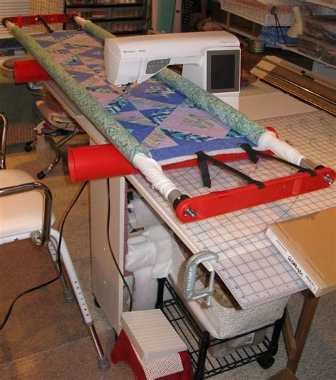 Diy Machine Quilting Frame Plans by Simple Diy Machine Quilting Frame Clever Ideas