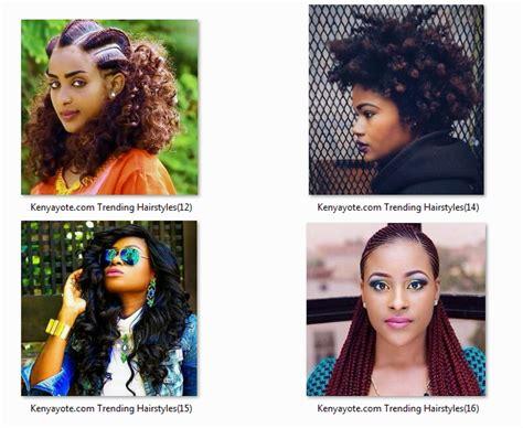 Hair Style In Kenya by Weave Hairstyles In Nairobi Hairstyles